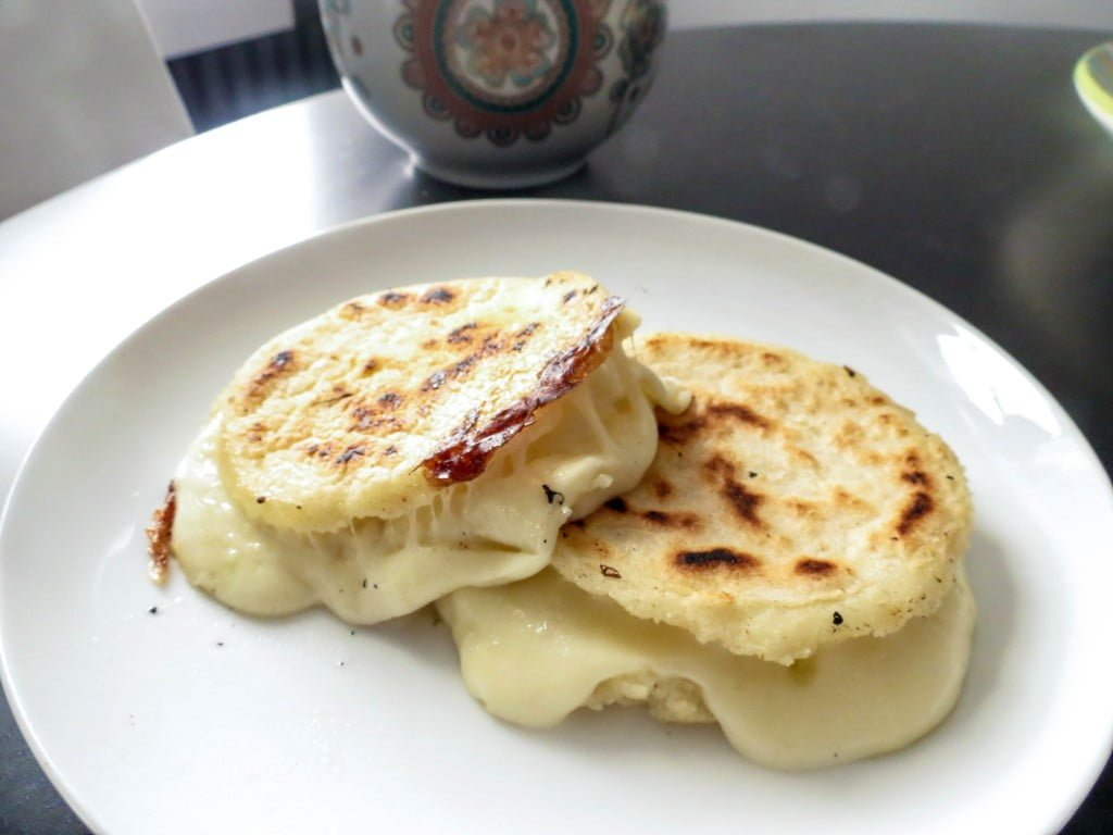 Cheese Stuffed Colombian Arepas - Olivia's Cuisine