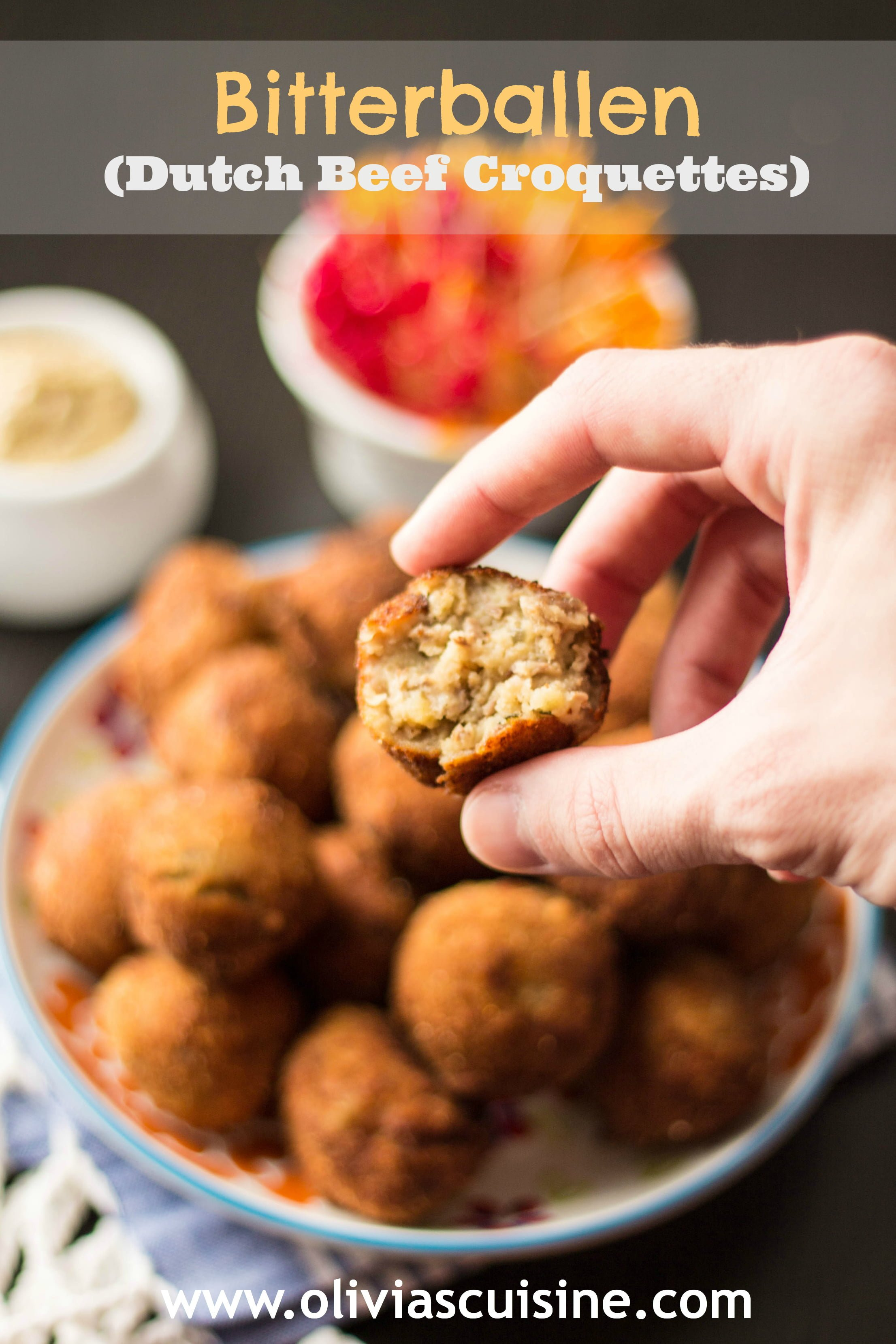 Bitterballen dutch beef croquettes olivias cuisine bitterballen forumfinder Choice Image