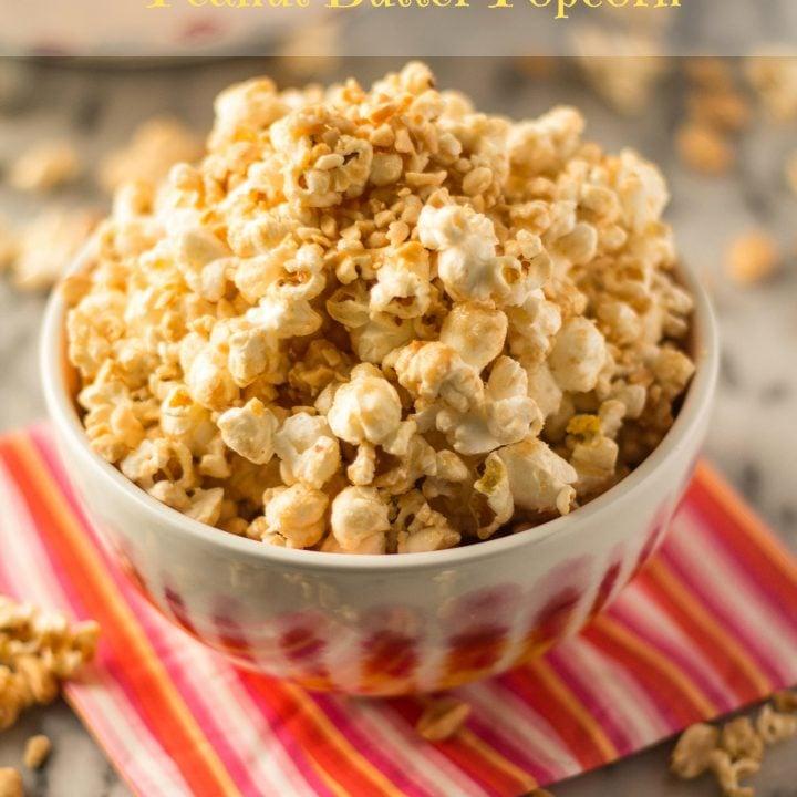 Dumbo's Peanut Butter Popcorn | www.oliviascuisine.com