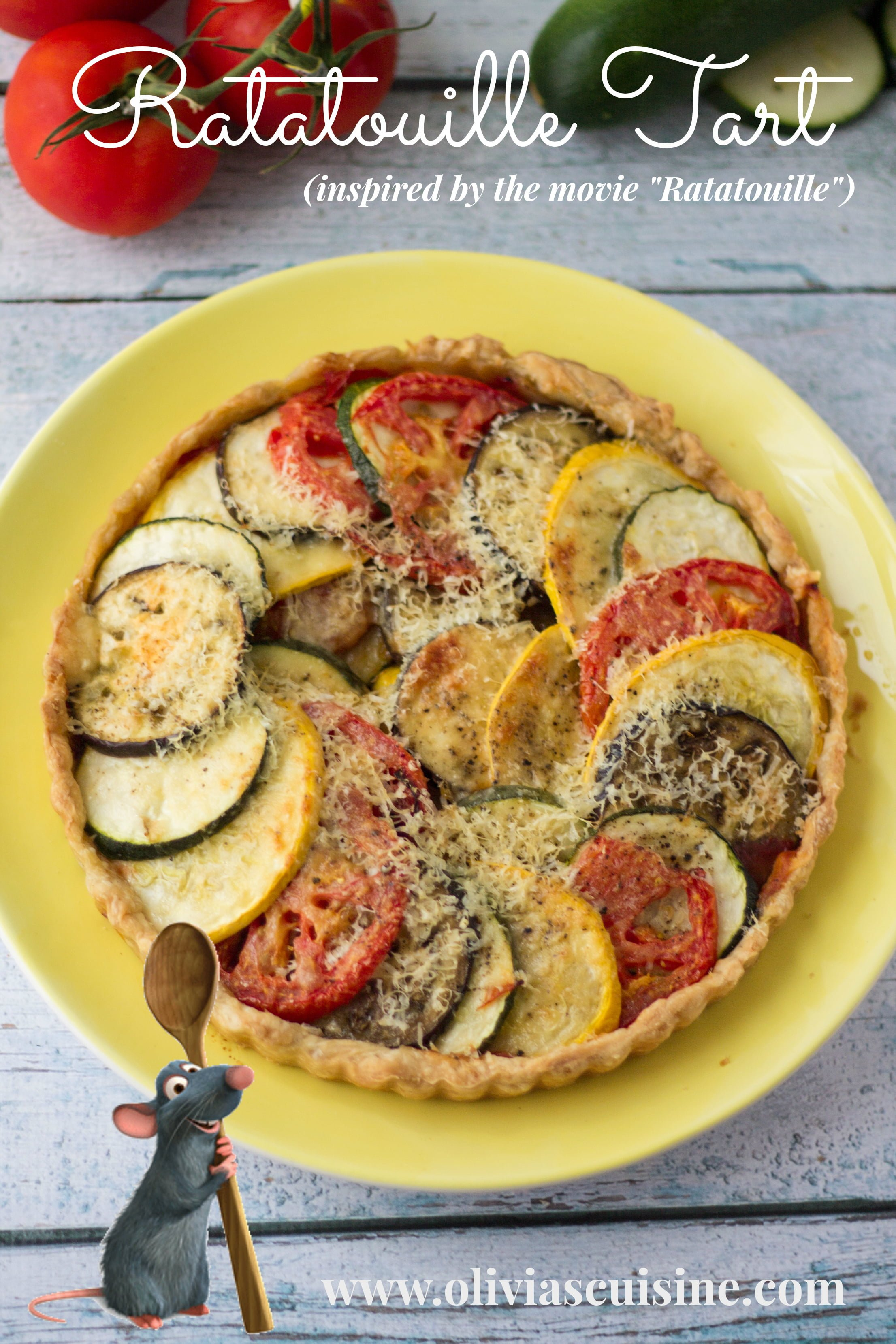 Ratatouille Tart Recipe — Dishmaps