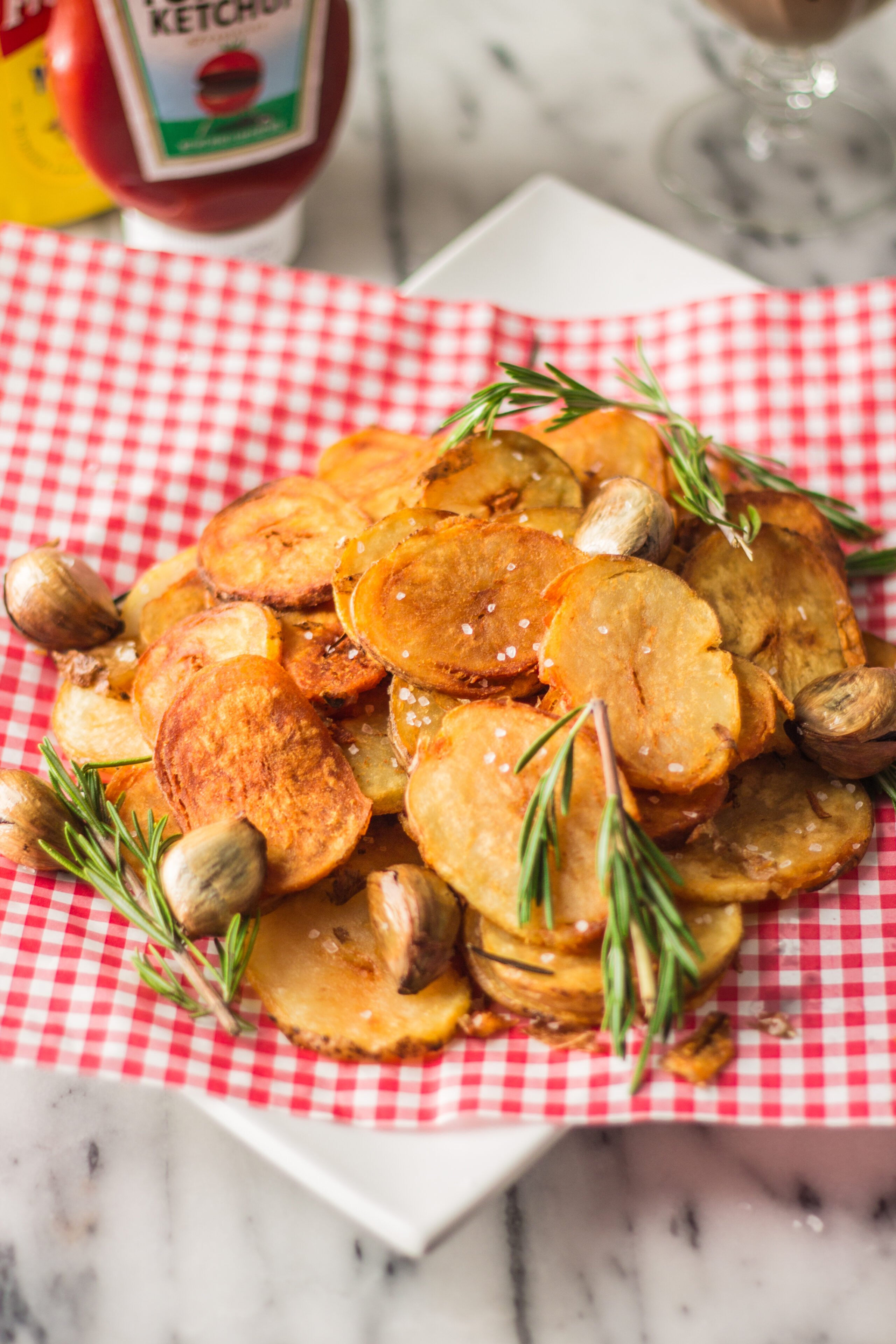 Homemade Rustic Chips