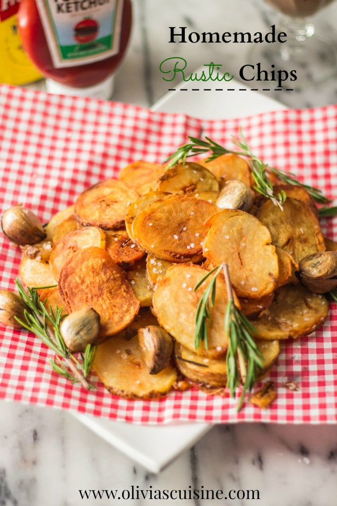 Homemade Rustic Chips | www.oliviascuisine.com