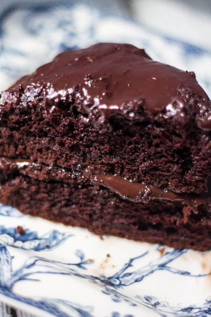 Birthday Chocolate Cake   www.oliviascuisine.com