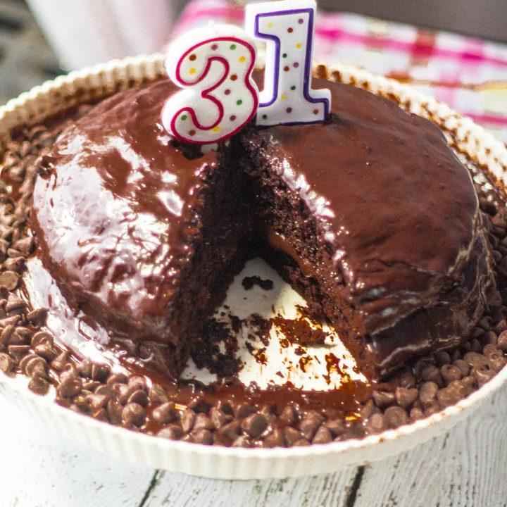 Birthday Chocolate Cake | www.oliviascuisine.com