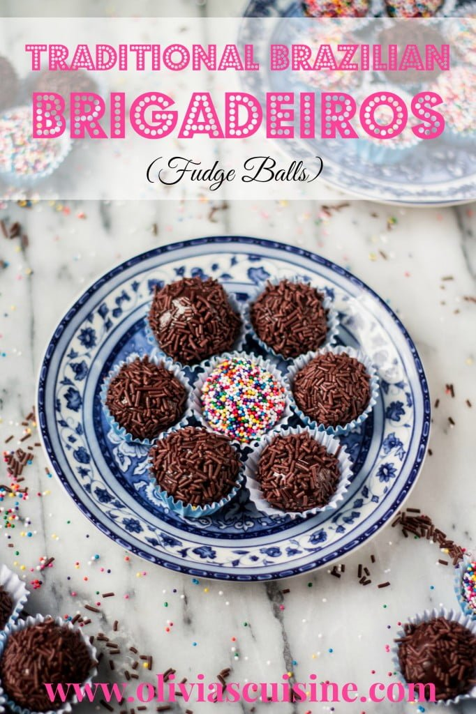 Traditional Brigadeiros (Brazilian Fudge Balls) - Olivia's