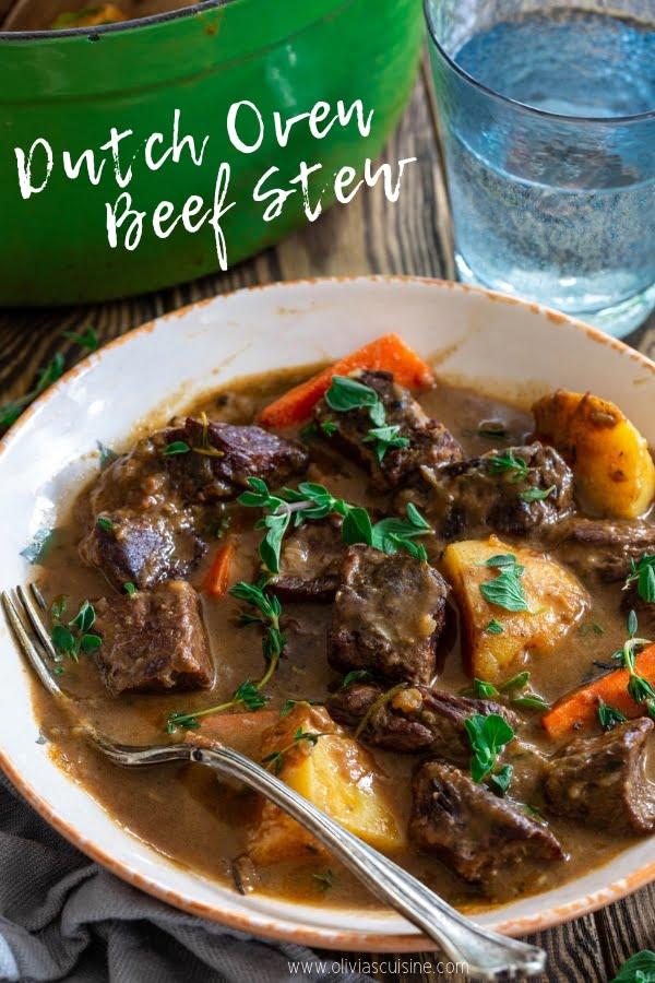 Dutch Oven Beef Stew | www.oliviascuisine.com