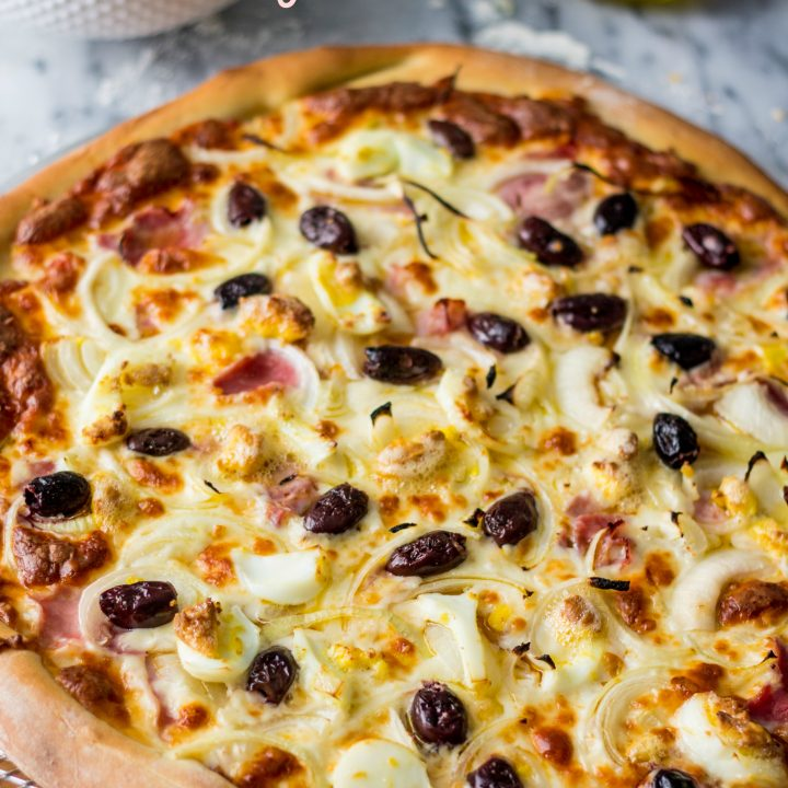 Portuguese Pizza | www.oliviascuisine.com