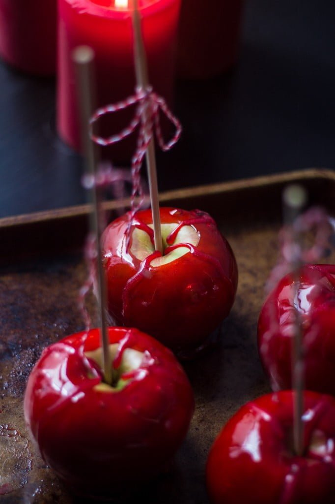 From the Disney Gourmet Series - Snow White's Poison Apples - www.oliviascuisine.com