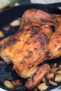 Roasted Chicken with 40 Cloves of Garlic | www.oliviascuisine.com