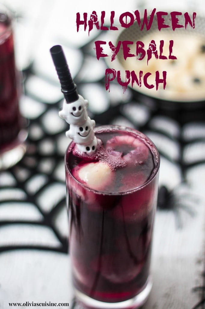 Halloween Eyeball Punch | www.oliviascuisine.com