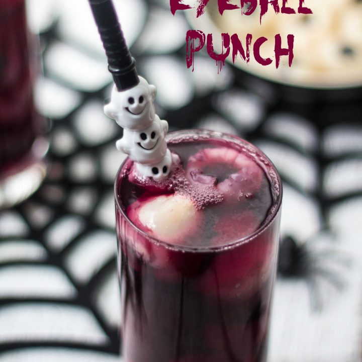 Halloween Eyeball Punch | www.oliviascuisine.com