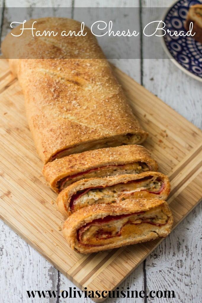 Ham and Cheese Bread | www.oliviascuisine.com