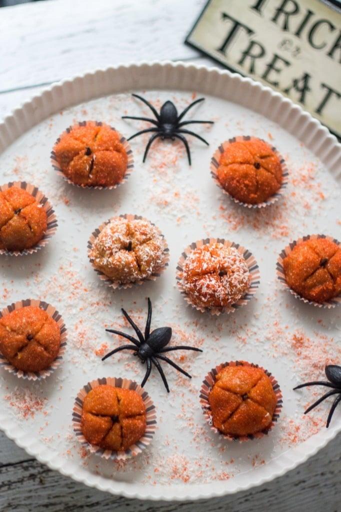 Pumpkin Brigadeiros (Truffles) - Olivia's Cuisine