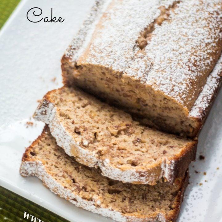 Simple Walnut Cake | www.oliviascuisine.com
