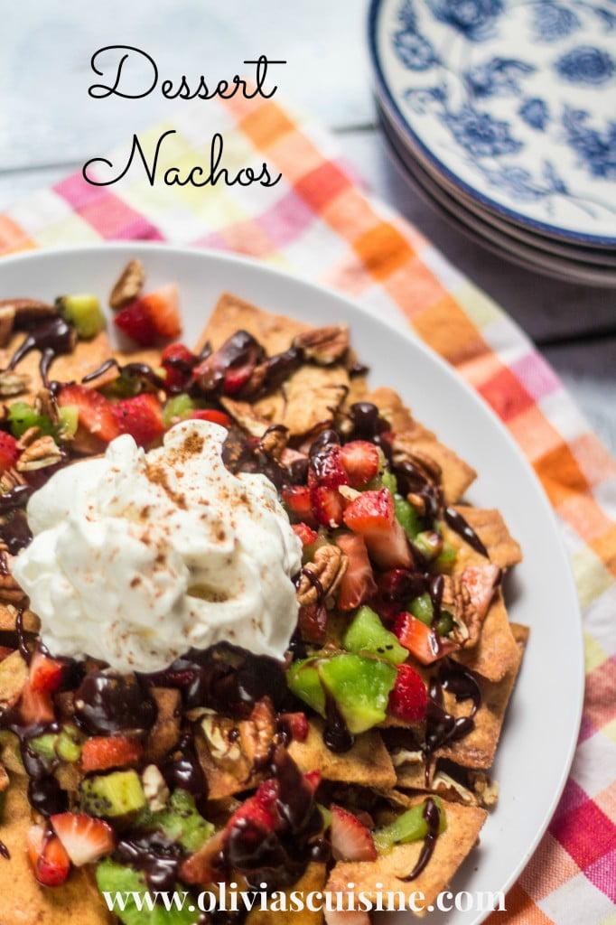 Dessert Nachos | www.oliviascuisine.com