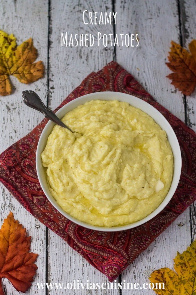 Creamy Mashed Potatoes | www.oliviascuisine.com