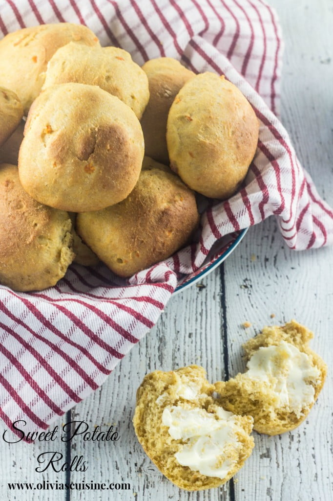 Sweet Potato Rolls | www.oliviascuisine.com
