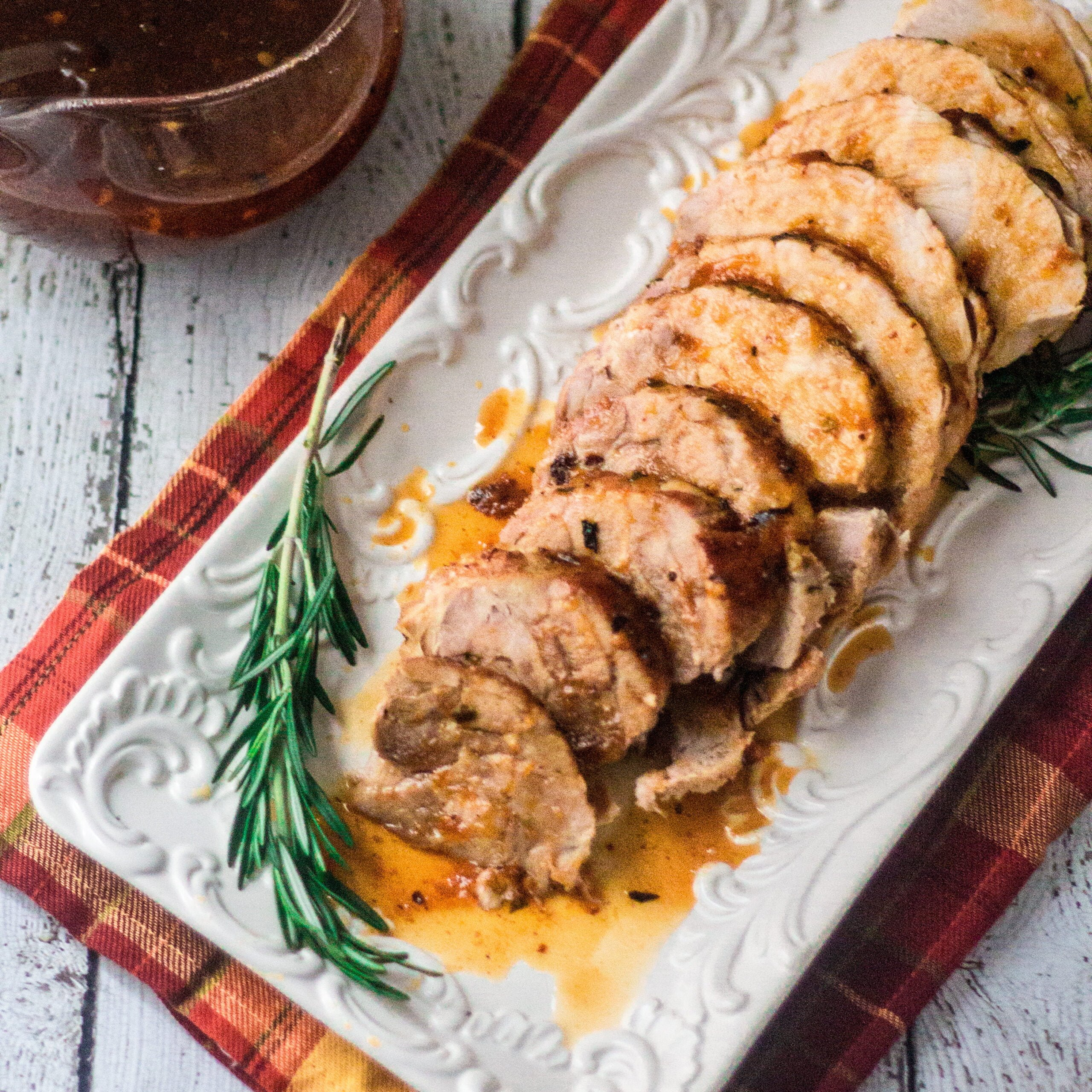 Turkey Breast with Apricot Sauce | www.oliviascuisine.com