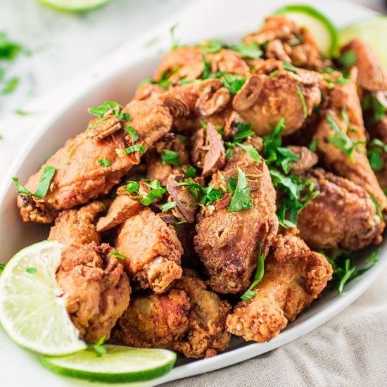 Brazilian Style Chicken Wings | www.oliviascuisine.com