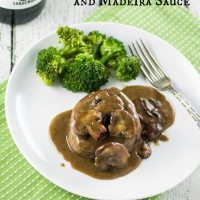 Filet Mignon with Mushrooms and Madeira Sauce