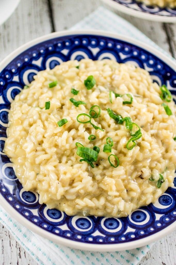 Gorgonzola Risotto | www.oliviascuisine.com