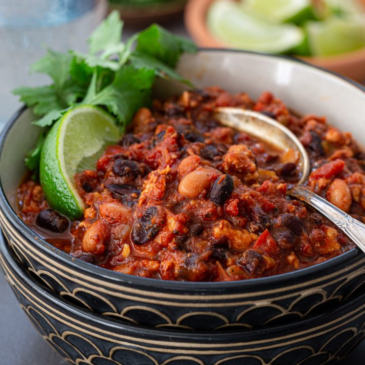 The Best Turkey Chili Ever!