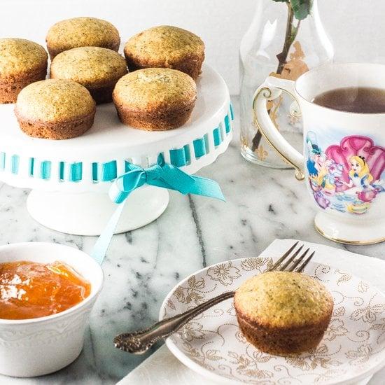 The Disney Gourmet Series – Alice's Earl Grey Tea Cakes