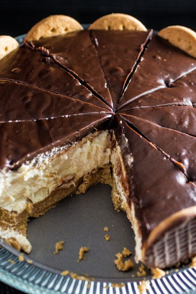 Chocolate Covered Cream Pie | www.oliviascuisine.com | Creamy, decadent and delicious, this pie will win your heart in one bite!