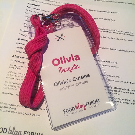 Food Blog Forum 2015