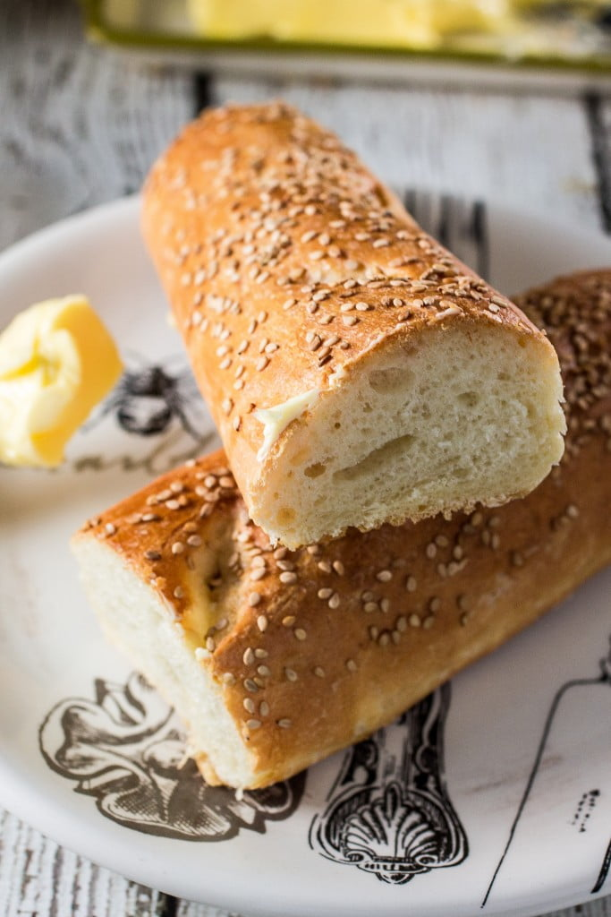 Homemade French Baguettes with Finlandia - Olivia's Cuisine
