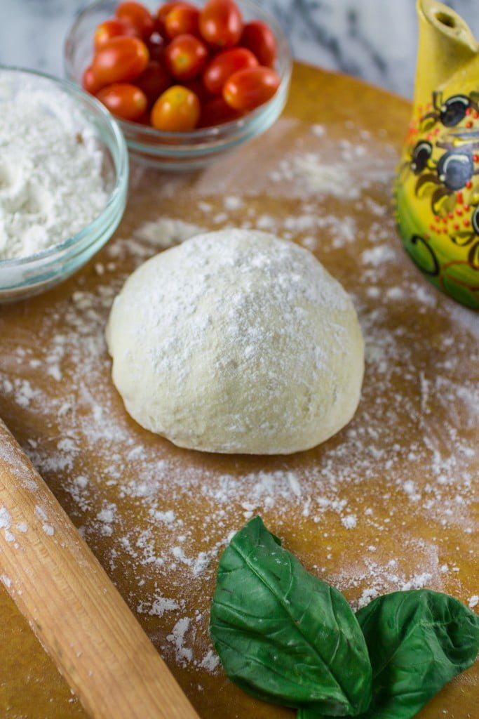 Homemade Pizza Dough | www.oliviascuisine.com | Perfect, foolproof homemade pizza dough that works every time!