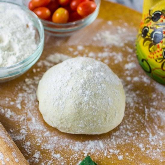 Homemade Pizza Dough | www.oliviascuisine.com | Perfect, foolproof homemade pizza dough that works every time!