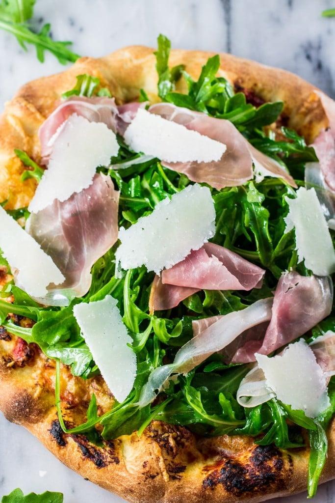 Arugula and Prosciutto Pizza   www.oliviascuisine.com