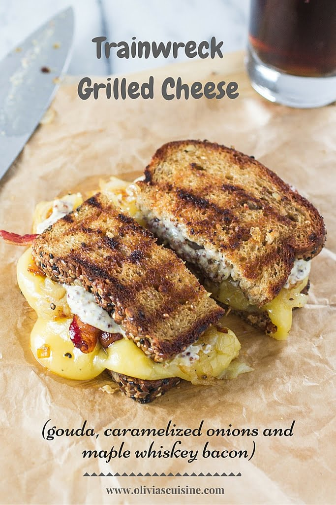 Trainwreck Grilled Cheese