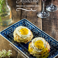 Croque Madame Brunch Sandwiches