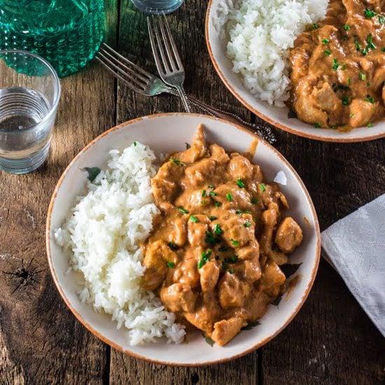 Chicken Stroganoff Recipe — Dishmaps