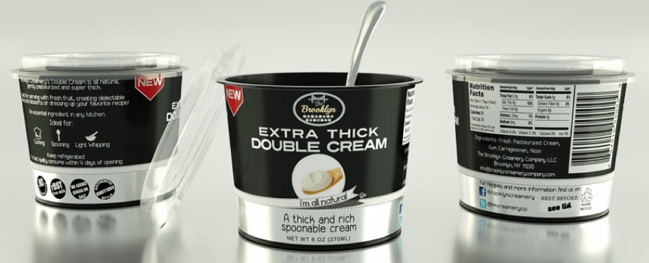 Cream Just Got Real! Introducing Brooklyn Creamery's Single and Double Cream! | www.oliviascuisine.com