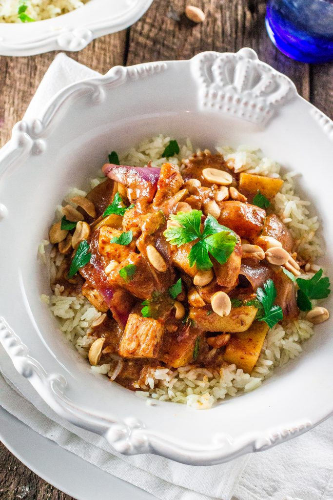 Massaman Curry Chicken | www.oliviascuisine.com | Make delicious Thai food at home with this easy and simple recipe!