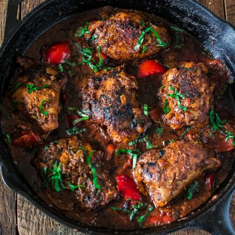 Chicken Cacciatore   www.oliviascuisine.com   Spend less time in the kitchen and more time at the table with your family and friends by making this easy and simple Chicken Cacciatore, using Mezzetta Napa Valley Homemade Marinara Sauce! #FallforFlavor #sp