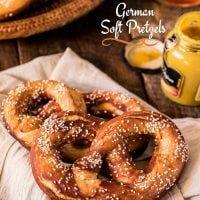 German Soft Pretzels (Laugenbrezel)