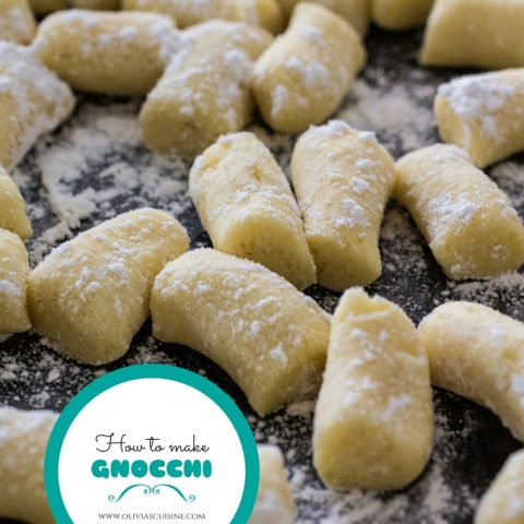 How To Make Gnocchi | www.oliviascuisine.com | A step-by-step tutorial on how to make pillowy gnocchi at home!
