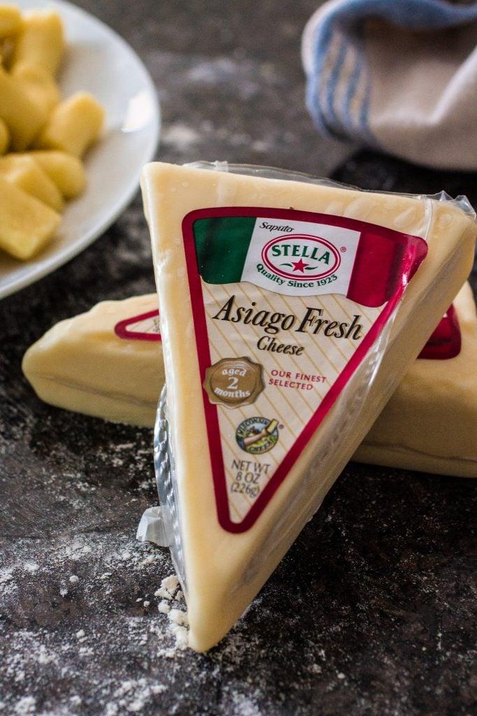 Gnocchi with Creamy Asiago Sauce | www.oliviascuisine.com