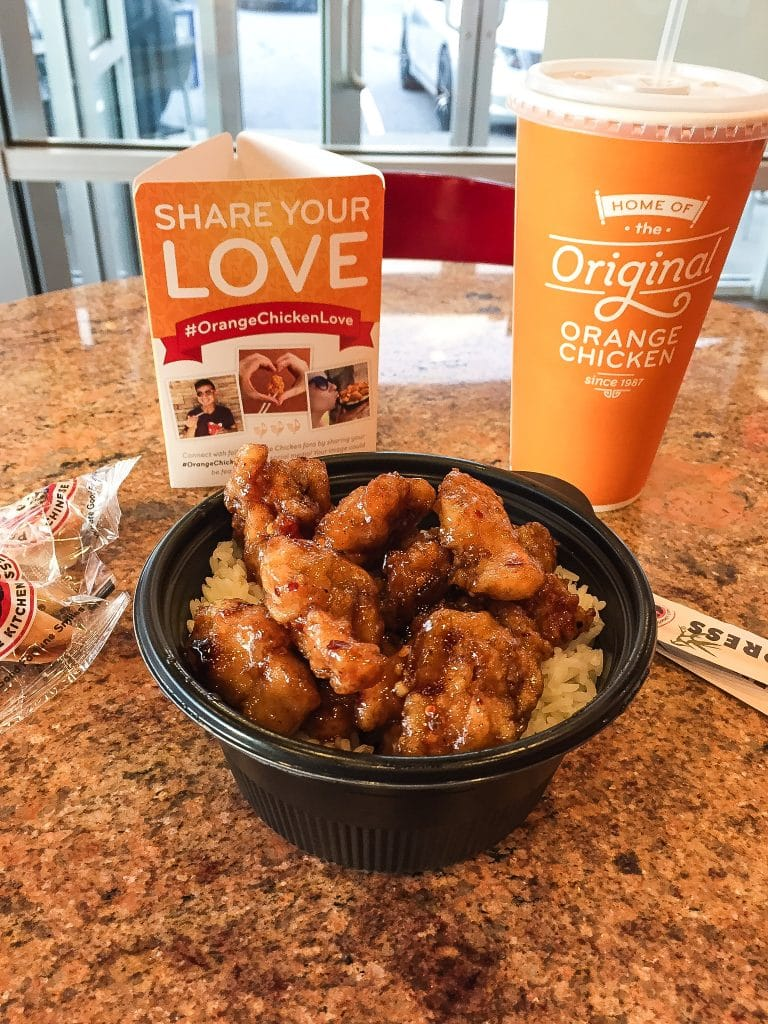 Panda Express Food Truck Tour and the Delicious Orange Chicken! | www.oliviascuisine.com