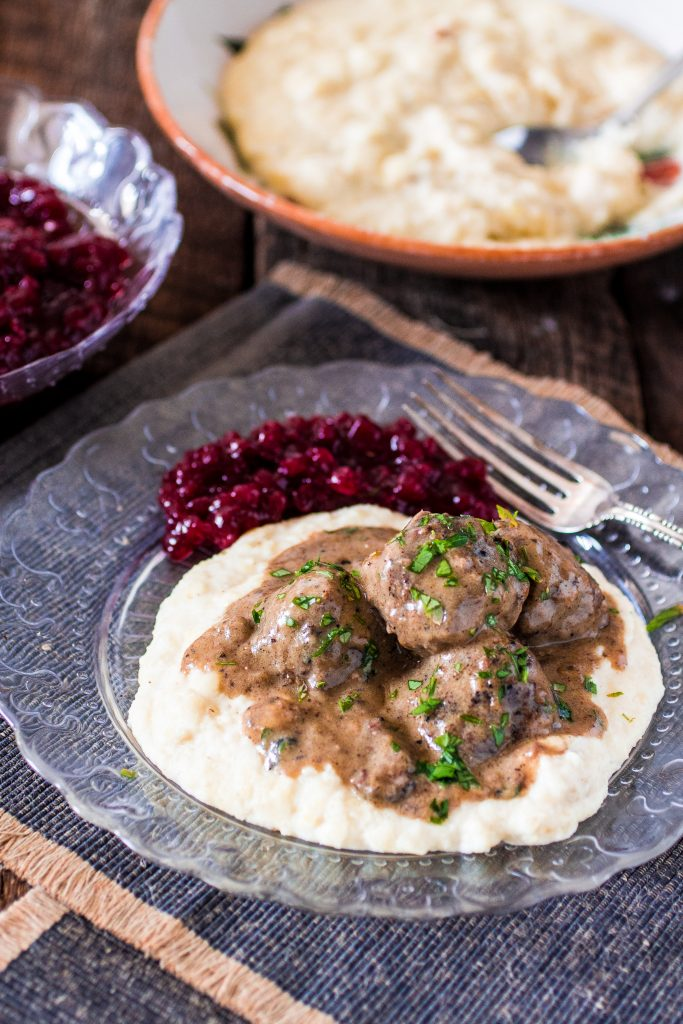 Swedish Meatballs | www.oliviascuisine.com | Swedish Meatballs smothered in gravy. So delicious and so much better than the IKEA version!