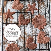 Swiss Chocolate Spice Cookies (Basler Brunsli)