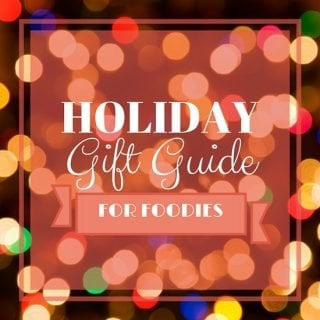 2015 Holiday Gift Guide For Foodies | www.oliviascuisine.com | The best holiday gifts for the foodie in your life!