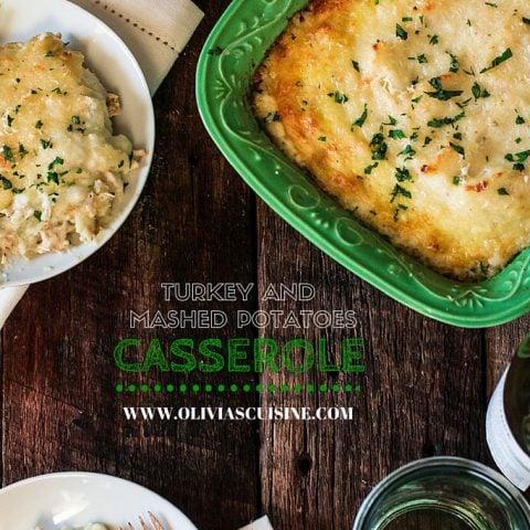 Turkey and Mashed Potatoes Casserole