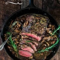 Rosemary and Garlic Roast Beef
