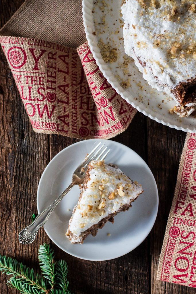 Brazilian Walnut Torte   www.oliviascuisine.com   My grandmother's Christmas torte is incredibly addicting. Only 5 ingredients create this rich, decadent dessert that will be the perfect addition to your holiday table.