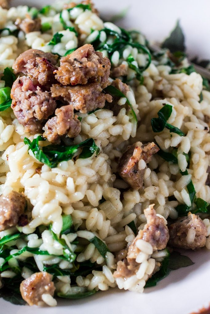 Collard Greens & Italian Sausage | www.oliviascuisine.com | A delicious and easy recipe for those days when you are craving some comfort food!